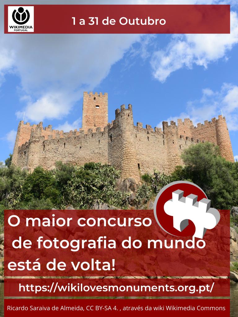 Wiki Loves Monuments quer fotografar e catalogar todos os monumentos de Portugal e colocá-los na Wikipédia